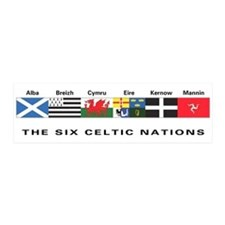 Celtic Nations 20x6 Wall Peel
