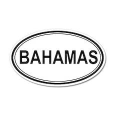 Bahamas Euro 20x12 Oval Wall Peel