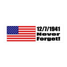 20x6 Wall Peel - 12/7/1941: Never Forget