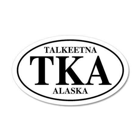 Talkeetna 35x21 Oval Wall Peel