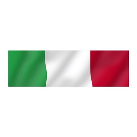 Pure Flag of Italy 36x11 Wall Peel