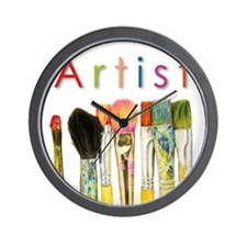 ACEO Art Wall Clock