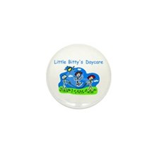 Little Bitty's Daycare Mini Button (100 pack)