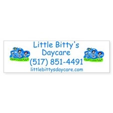 Little Bitty's Daycare Bumper Bumper Sticker