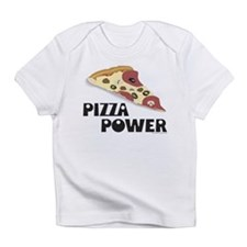 Pizza Power Creeper Infant T-Shirt