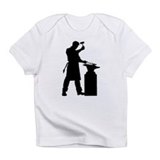 Blacksmith Silhouette Infant T-Shirt