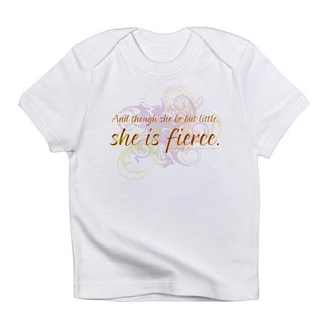 She is Fierce - Swirl Infant T-Shirt