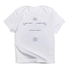 Baby Code Boy Infant T-Shirt