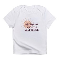 She is Fierce - Grunge Infant T-Shirt