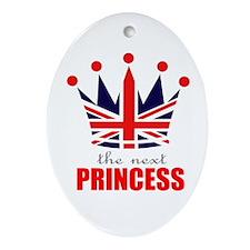 Next Princess Ornament (Oval)