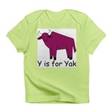 Y is for Yak Infant T-Shirt