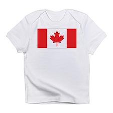 Canada Flag Creeper Infant T-Shirt