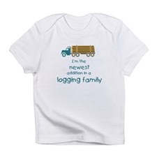 New Addition to a Logging Fam Infant T-Shirt