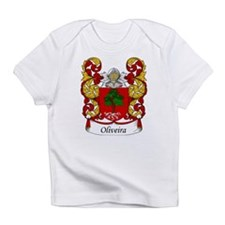 Oliveira Family Crest Creeper Infant T-Shirt