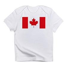 Canadian Flag Creeper Infant T-Shirt