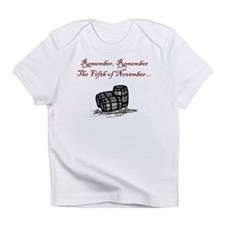 Gunpowder Plot Creeper Infant T-Shirt