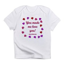 Love You Creeper Infant T-Shirt