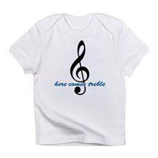 Here Comes Blue Treble Infant T-Shirt