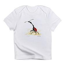 Giraffe Beetle Creeper Infant T-Shirt