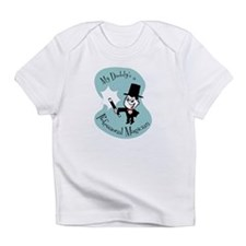 """My Daddy's a Magician"" Creeper Infant T-Shirt"
