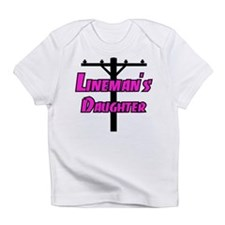 Lineman's daughter Infant T-Shirt
