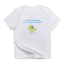 Dad Techie - YW1 - Creeper Infant T-Shirt