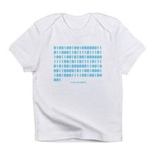 """I Love You Daddy"" in Binary - Creeper Infant T-Sh"