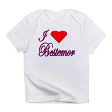 I Love Bestemor Creeper Infant T-Shirt