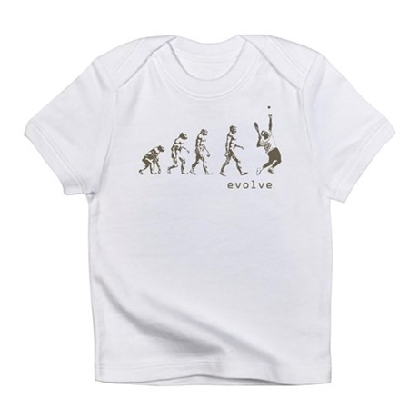 EVOLUTION OF TENNIS Infant T-Shirt