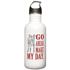 Go ahead. Make my day. (Eng) Water Bottle