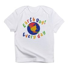 Earth Day Everyday Creeper Infant T-Shirt
