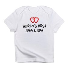 World's Best Oma and Opa Infant T-Shirt