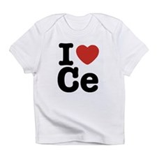 I love C e Creeper Infant T-Shirt