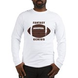 Fantasy Football Genius Long Sleeve T-Shirt