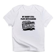 My Daddy Plays w/Blocks Infant T-Shirt