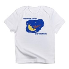 The Moose Jumped Over The Moon Creeper Infant T-Sh