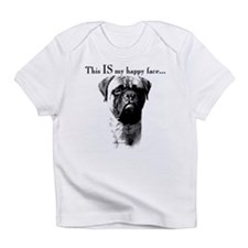 Bullmastiff Happy Face Infant T-Shirt
