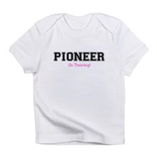Pioneer In Training Creeper (Girl Infant T-Shirt