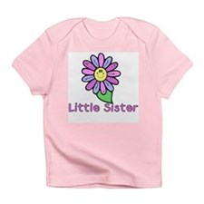 Little Sister Flower Creeper Infant T-Shirt