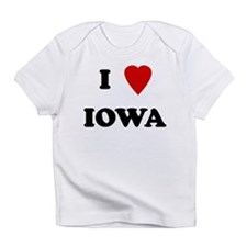 I Love Iowa Creeper Infant T-Shirt