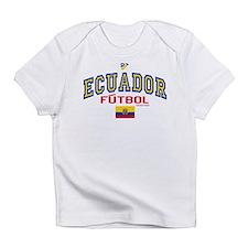 Ecuador Futbol/Soccer Infant T-Shirt