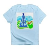 Oil Derrick Infant T-Shirt