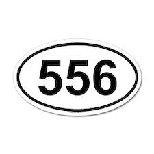 556 35x21 Oval Wall Peel