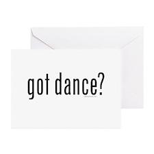 got dance? by DanceShirts.com Greeting Cards (Pk o