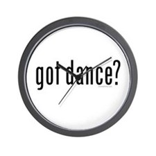 got dance? by DanceShirts.com Wall Clock
