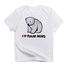 I Love Polar Bears Infant T-Shirt