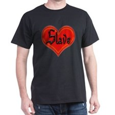 Love Slave Black T-Shirt