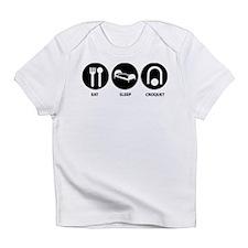Eat Sleep Croquet Infant T-Shirt