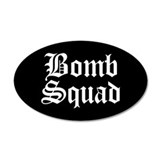 Bomb Squad 20x12 Oval Wall Peel