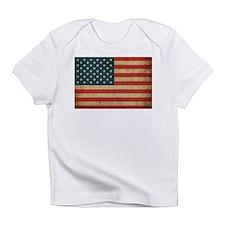 Vintage America Flag Infant T-Shirt